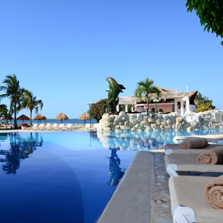 Share Cancun - Hoteles - Sunset Marina Resort & Yacht Club   Alberca