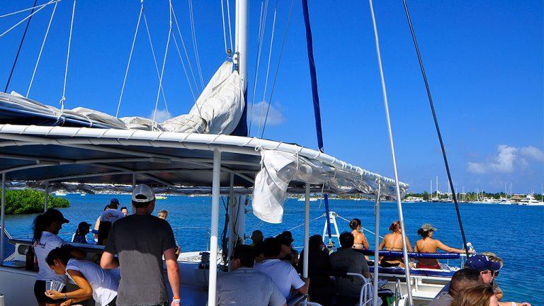 Share Cancun - Servicios - Sunset Admiral   Dentro Bote