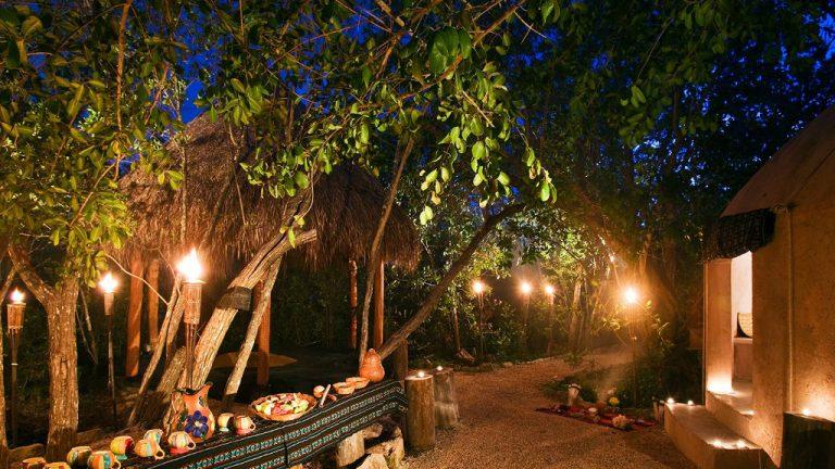 Share Cancun - Hoteles - Hacienda Tres Rios Resort, Spa & Nature Park | Vista Noche