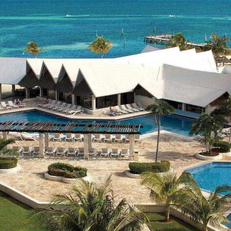 Share Cancun - Hoteles - Ocean Spa Hotel | Vista Aerea