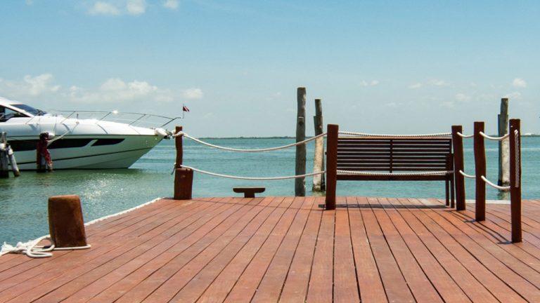 Share Cancun - Hoteles - Sunset Marina Resort & Yacht Club   Muelle